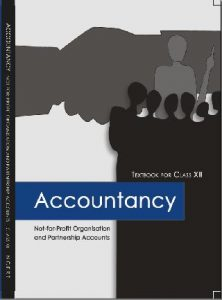 NCERT BOOK of Accountancy part 1 Coverpage