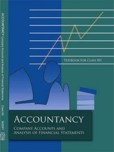 NCERT BOOK of Accountancy part 2 Coverpage