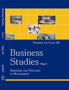 Ncert Book of BUSINESS STUDIES 1 class 12