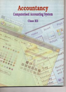 NCERT BOOK of COMPUTER IN ACCOUNTING Coverpage