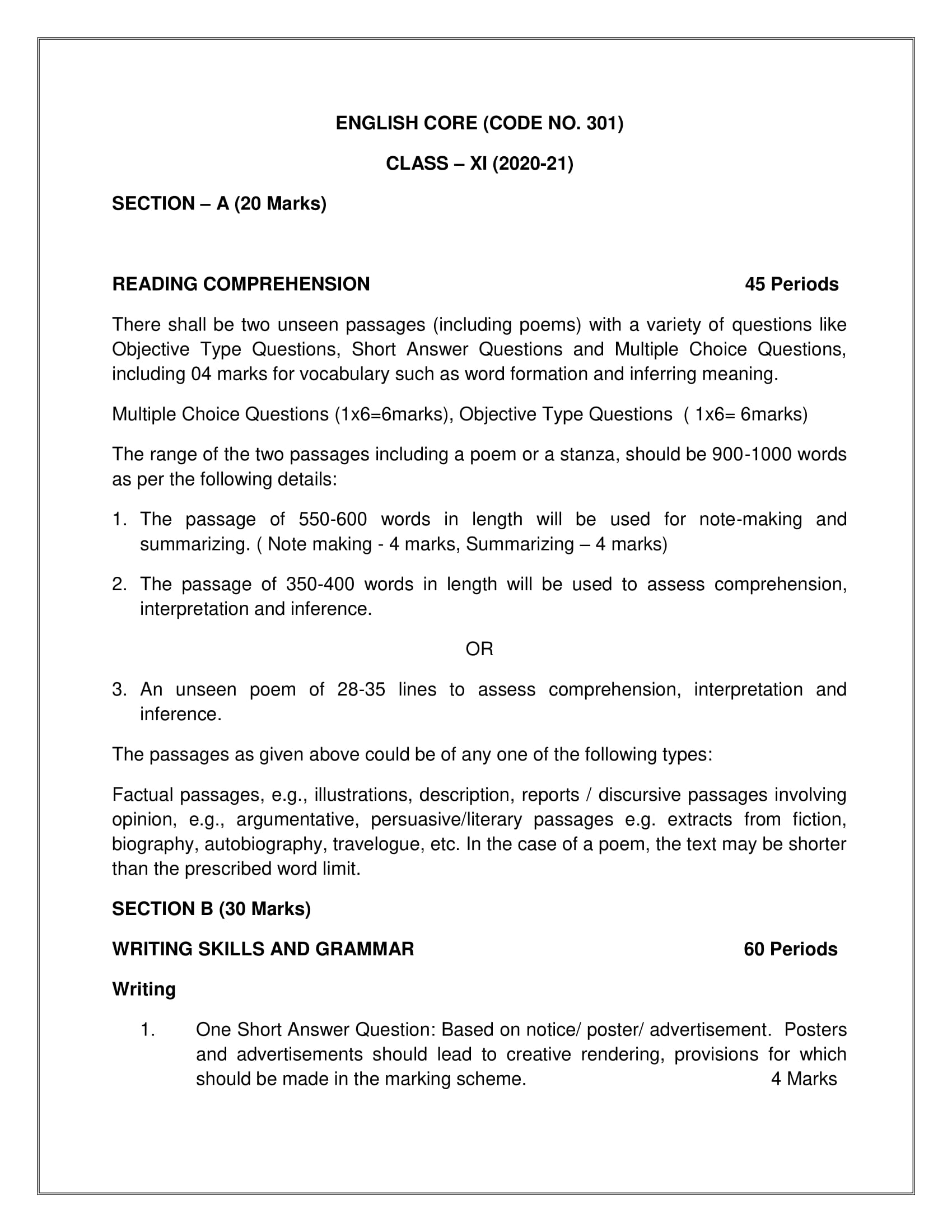 English.core Sr.Sec 2020 21 07