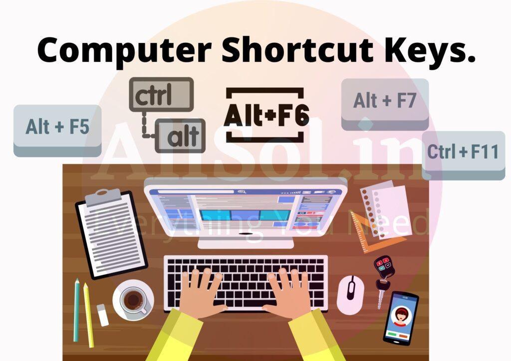 Computer Shortcut Keys.