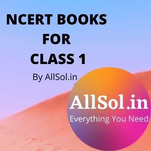NCERT BOOKS FOR CLASS 1