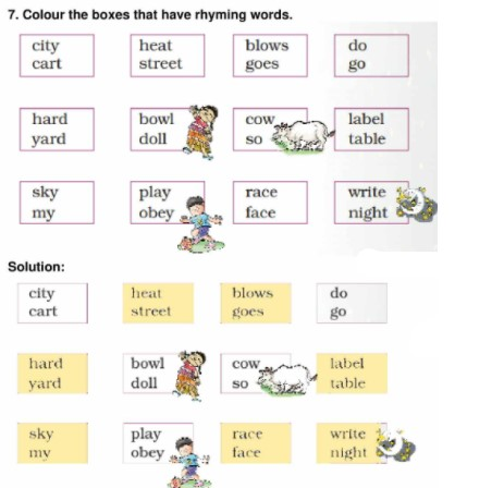 NCERT Solution for class 5 English Marigold Unit 1 Chapter 1 Ice cream Man