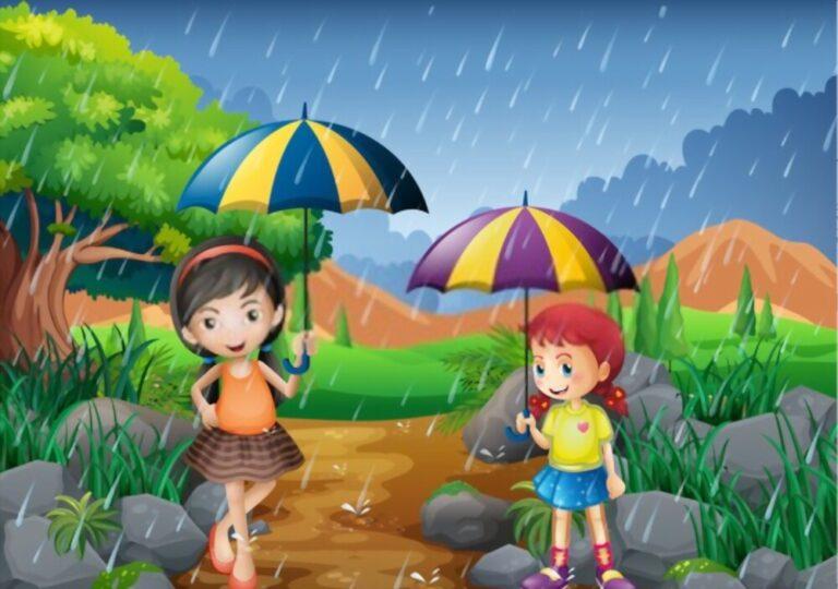 Total Seasons in India Rainy or monsoon